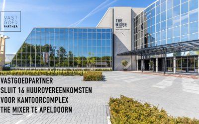 VastgoedPartner sluit 16 huurovereenkomstenvoorkantoorcomplex The Mixer te Apeldoorn